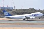 FLYING  HONU好きさんが、成田国際空港で撮影したポーラーエアカーゴ 747-46NF/SCDの航空フォト(写真)