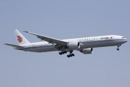 しゃこ隊さんが、上海虹橋国際空港で撮影した中国国際航空 777-39L/ERの航空フォト(飛行機 写真・画像)