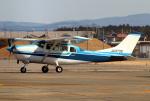 なごやんさんが、名古屋飛行場で撮影した川崎航空 TU206F Turbo Stationairの航空フォト(写真)