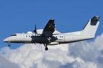 =JAかみんD=さんが、横田基地で撮影したアメリカ企業所有 DHC-8-315B Dash 8の航空フォト(写真)