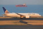 やつはしさんが、羽田空港で撮影したユナイテッド航空 787-8 Dreamlinerの航空フォト(写真)