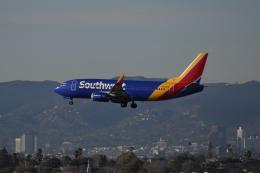 nontan8さんが、ロサンゼルス国際空港で撮影したサウスウェスト航空 737-3H4の航空フォト(飛行機 写真・画像)