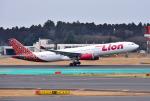 mojioさんが、成田国際空港で撮影したタイ・ライオン・エア A330-343Xの航空フォト(飛行機 写真・画像)