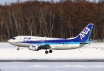 garrettさんが、新千歳空港で撮影したANAウイングス 737-54Kの航空フォト(写真)