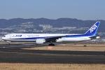 冷やし中華始めましたさんが、伊丹空港で撮影した全日空 777-381/ERの航空フォト(写真)
