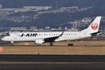 冷やし中華始めましたさんが、伊丹空港で撮影したジェイ・エア ERJ-190-100(ERJ-190STD)の航空フォト(写真)