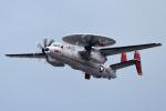 Flankerさんが、岩国空港で撮影したアメリカ海軍 E-2D Advanced Hawkeyeの航空フォト(写真)