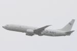 小牛田薫さんが、嘉手納飛行場で撮影したアメリカ海軍 P-8A (737-8FV)の航空フォト(写真)