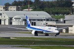 うめたろうさんが、那覇空港で撮影した全日空 787-9の航空フォト(写真)