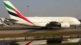 westtowerさんが、スワンナプーム国際空港で撮影したエミレーツ航空 A380-842の航空フォト(飛行機 写真・画像)