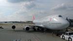 ちゃぽんさんが、成田国際空港で撮影したアシアナ航空 747-48Eの航空フォト(写真)