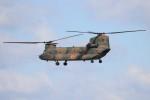 ゆう改めてさんが、熊本空港で撮影した陸上自衛隊 CH-47JAの航空フォト(写真)