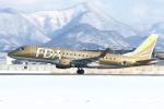 meskinさんが、山形空港で撮影したフジドリームエアラインズ ERJ-170-200 (ERJ-175STD)の航空フォト(写真)