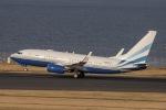 ぐっちーさんが、羽田空港で撮影したラスベガス サンズ 737-73T BBJの航空フォト(写真)