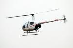 なごやんさんが、名古屋飛行場で撮影した日本個人所有 R22 Beta IIの航空フォト(写真)