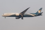 soranchuさんが、スワンナプーム国際空港で撮影したオマーン航空 787-9の航空フォト(写真)