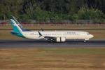 sumihan_2010さんが、シンガポール・チャンギ国際空港で撮影したシルクエア 737-8-MAXの航空フォト(写真)
