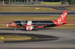 sumihan_2010さんが、シンガポール・チャンギ国際空港で撮影したエアアジア A320-216の航空フォト(写真)