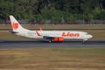 sumihan_2010さんが、シンガポール・チャンギ国際空港で撮影したライオン・エア 737-8GPの航空フォト(写真)
