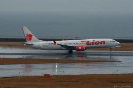 ぱん_くまさんが、中部国際空港で撮影したタイ・ライオン・エア 737-9-MAXの航空フォト(飛行機 写真・画像)