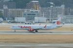 pringlesさんが、福岡空港で撮影したタイ・ライオン・エア 737-9-MAXの航空フォト(写真)