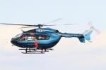 アイトムさんが、名古屋飛行場で撮影した愛知県警察 BK117C-2の航空フォト(写真)