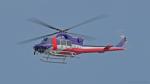 yamag-Tさんが、岐阜基地で撮影した岐阜県防災航空隊 412EPの航空フォト(写真)