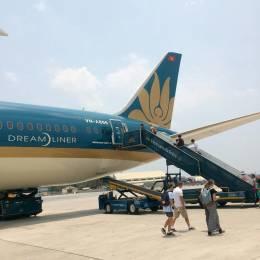 ✳︎Osuke✳︎さんが、タンソンニャット国際空港で撮影したベトナム航空 787-9の航空フォト(写真)