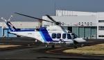 Mizuki24さんが、東京ヘリポートで撮影したオールニッポンヘリコプター AW139の航空フォト(写真)