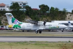 zettaishinさんが、プリンセス・ジュリアナ国際空港で撮影したエア・アンティル・エクスプレス ATR-42-600の航空フォト(写真)