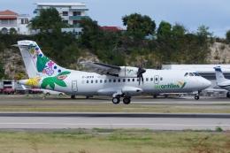 zettaishinさんが、プリンセス・ジュリアナ国際空港で撮影したエア・アンティル・エクスプレス ATR-42-600の航空フォト(飛行機 写真・画像)