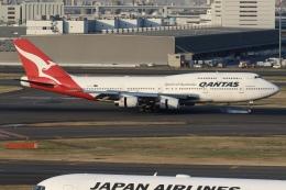 sky-spotterさんが、羽田空港で撮影したカンタス航空 747-438の航空フォト(写真)