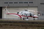 トリトンブルーSHIROさんが、庄内空港で撮影した東北エアサービス AW169の航空フォト(写真)