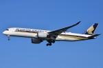 JMBResonaさんが、羽田空港で撮影したシンガポール航空 A350-941XWBの航空フォト(写真)