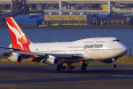 tkosadaさんが、羽田空港で撮影したカンタス航空 747-438の航空フォト(飛行機 写真・画像)