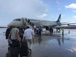 FlyHideさんが、マヌエル・マルケス・デ・レオン国際空港で撮影したアエロメヒコ・コネクト ERJ-190-100 LR (ERJ-190LR)の航空フォト(飛行機 写真・画像)
