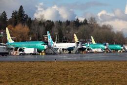 Hikobouzさんが、レントン市営空港で撮影したボーイング 737-9-MAXの航空フォト(飛行機 写真・画像)