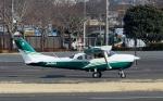 あきらっすさんが、調布飛行場で撮影した日本エアロスペース T206H Turbo Stationair TCの航空フォト(写真)