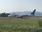加藤龍臥さんが、高松空港で撮影した全日空 767-381/ERの航空フォト(写真)