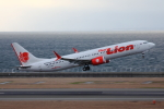 Hikobouzさんが、中部国際空港で撮影したタイ・ライオン・エア 737-9-MAXの航空フォト(飛行機 写真・画像)