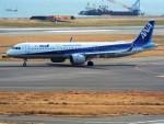 PW4090さんが、関西国際空港で撮影した全日空 A321-272Nの航空フォト(写真)