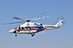 ヘリオスさんが、東京ヘリポートで撮影した国土交通省 地方整備局 AW139の航空フォト(写真)