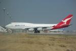 ぼのさんが、羽田空港で撮影したカンタス航空 747-438の航空フォト(飛行機 写真・画像)
