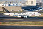 kuraykiさんが、羽田空港で撮影したタイ国際航空 747-4D7の航空フォト(写真)