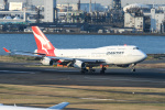 kuraykiさんが、羽田空港で撮影したカンタス航空 747-438の航空フォト(飛行機 写真・画像)