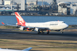 kuraykiさんが、羽田空港で撮影したカンタス航空 747-438の航空フォト(写真)