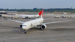 ぱん_くまさんが、成田国際空港で撮影した日本航空 777-346/ERの航空フォト(飛行機 写真・画像)