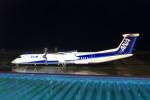 KKiSMさんが、対馬空港で撮影したANAウイングス DHC-8-402Q Dash 8の航空フォト(写真)