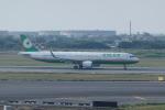 pringlesさんが、台湾桃園国際空港で撮影したエバー航空 A321-211の航空フォト(写真)