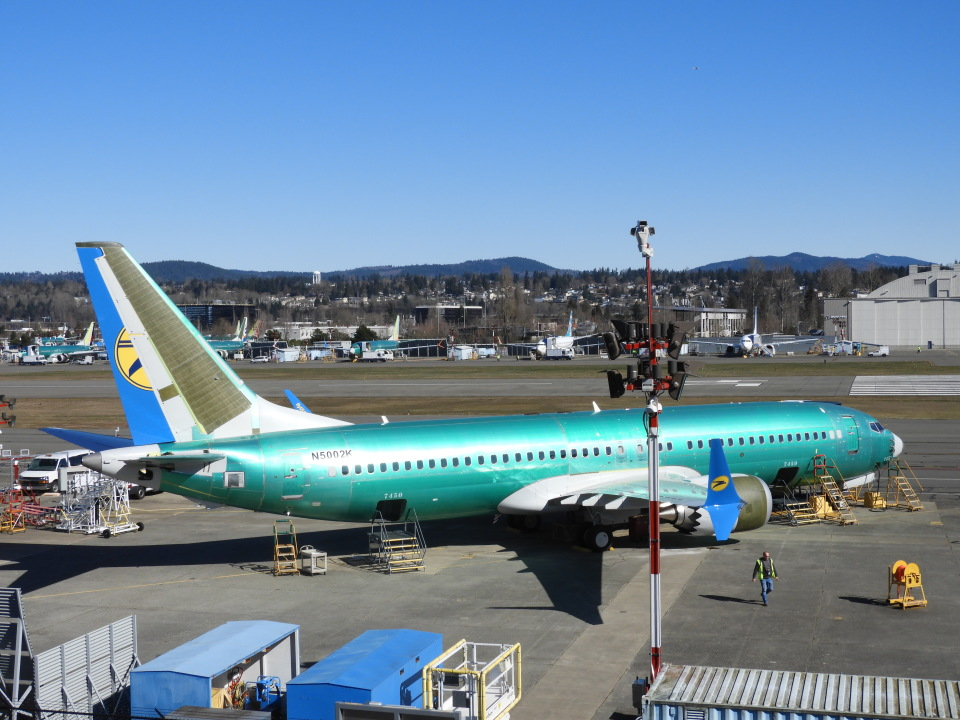 SKY☆MOTOさんのボーイング Boeing 737 MAX 8 (N5002K) 航空フォト